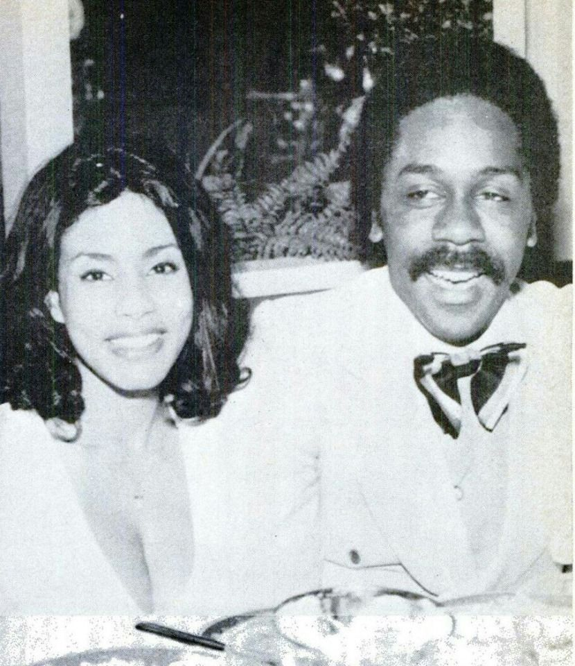 Demond Wilson and Cicely johnston